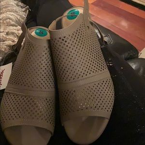 New restricted sandals